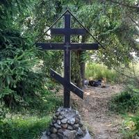 Крест на переулке Гамалея