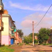 Поселок Каменск, ул. Прибайкальская.