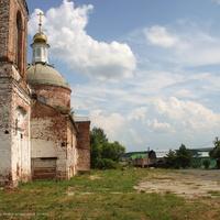 Вид от Ильинской церкви
