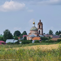 Церковь Илии Пророка в с. Васильково
