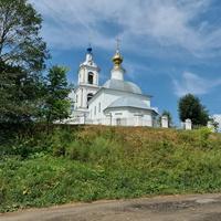 Преображенская церковь в Порецком