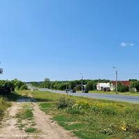 Лопатницы, вид на  трассу Р-132 в сторону Суздаля