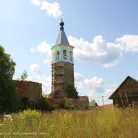 Погост Быково, Знаменская церковь