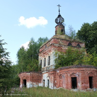 Церковь Николая Чудотворца. в Тетерино