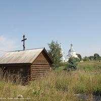 Санино, часовня Николая Чудотворца над святым источником