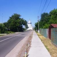 Геронимовка,центральная улица.
