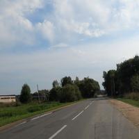 Уваровское, дорога на Малоярославец