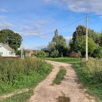 Начало садовой улицы