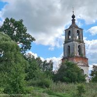 Колокольня церкви Николая Чудотворца  в урочище Аргуново