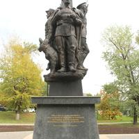 Памятник пограничникам.