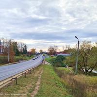 Павловское, трасса р-132 к г. Владимир, мост через р. Чендяевка