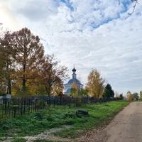 Павловское, погост около церкви Иоанна Предтечи