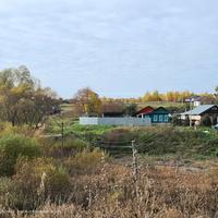 Павловское, вид на северо - запад от церкви Иоанна Предтечи