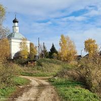 Павловское, церковь Иоанна Предтечи