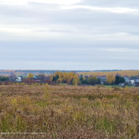 Погост-Быково, панорама с северо -запада