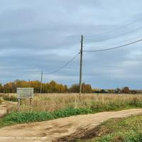 Дорога к д. Сизино с юга