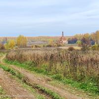 Ур. Старое Быково,  церковь Троицы Живоначальной