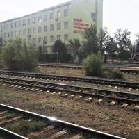 Макат. Локомотивное депо