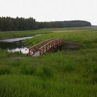 На реке Уша в д. Макаши