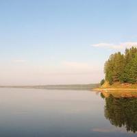 Шайтанка берег Северной Сосьвы