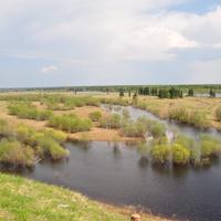 Вид на реку от Храма