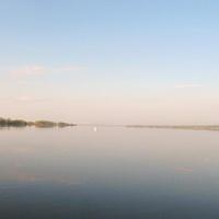 Рассвет. Югра. Шайтанка. Водная магистраль из Берёзово в Саранпауль.
