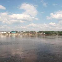 На горизонте-Сосьва. Югра. Река Северная Сосьва