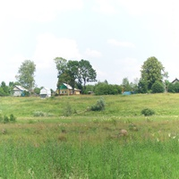 Панорама деревни от Берёги