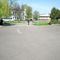 Театральная площадь в г. Борисоглебске