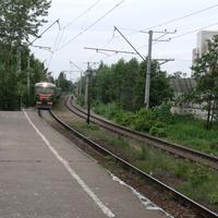 Прибытие поезда в г. Сестрорецк