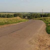 На подъезде к селу Каз-Майдан