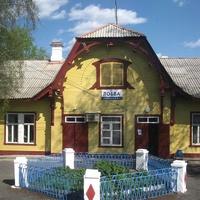 Станция Лобва. Вокзал.