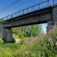 Ж/Д мост через р.Кушва
