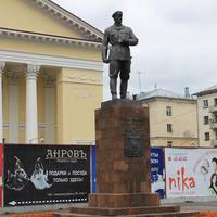 Памятник П. Виноградову