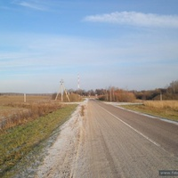 Дорога в Васьково
