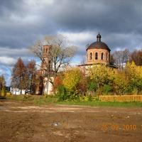 Швариха. Новоспасская церковь