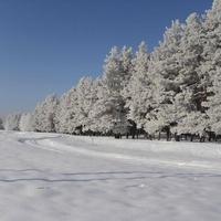 Зима в М.Бобрике