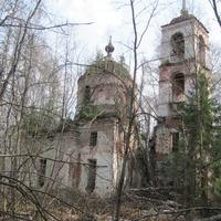 урочище Наумово, Преображенская церковь, весна 2010 года.