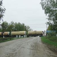 ЖД переезд Малино - Коломна (Малинское шоссе)