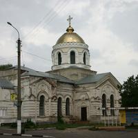 Улица Октябрьская, храм Спасо-Преображенский