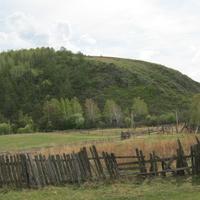 Гора,которая встречает)))