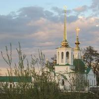 Югра. Ханты-Мансийский автономный округ. Берёзово. Православный храм.