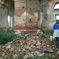 Баранья Гора (Кунино) Троицкий Собор - руины?