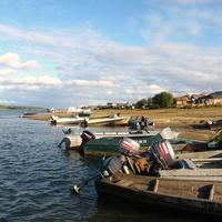 Западная Сибирь. Ханты-Мансийский автономный округ-Югра. Река Ляпин. Саранпаульская пристань.