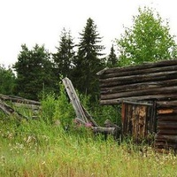 Западная Сибирь. ХМао-Югра. Ясунт. Древние постройки.