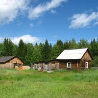 Деревня Хошлог. ХМао-Югра. Западная Сибирь.