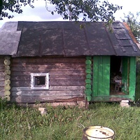 Баня в деревне Агафоново