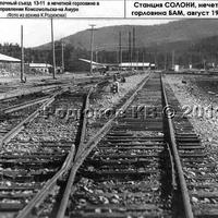 Выход со станции Солони в сторону Комсомольск-на Амуре
