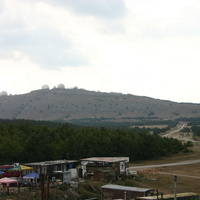 Радиолокационная станция ВПСР ЧФ РФ на горе Бедене-Кыр.