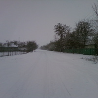 Зима с.Положа